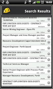 Mining Oil and Gas Jobs- screenshot thumbnail