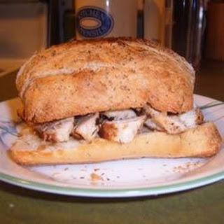 Gourmet Chicken Sandwich.