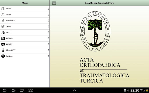 AOTT Journal Tablet
