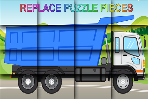 Vehicle Puzzle Game