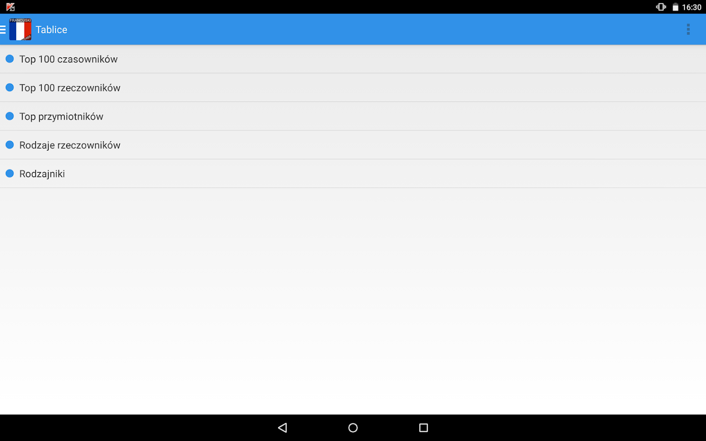 Ucz się języka Francuskiego - screenshot