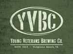 Logo of Young Veterans Brewery Company Shock Diamond