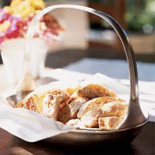 Tuscan Almond Biscotti.