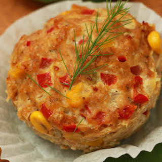 Mexican Ground Meat Muffins.