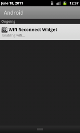 Wifi Reconnect Widget Screenshot 3