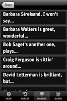 Screenshot of Don Rickles' Mr. Warmth App