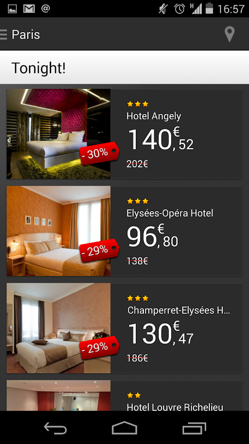 VeryLastRoom - Hotels- screenshot