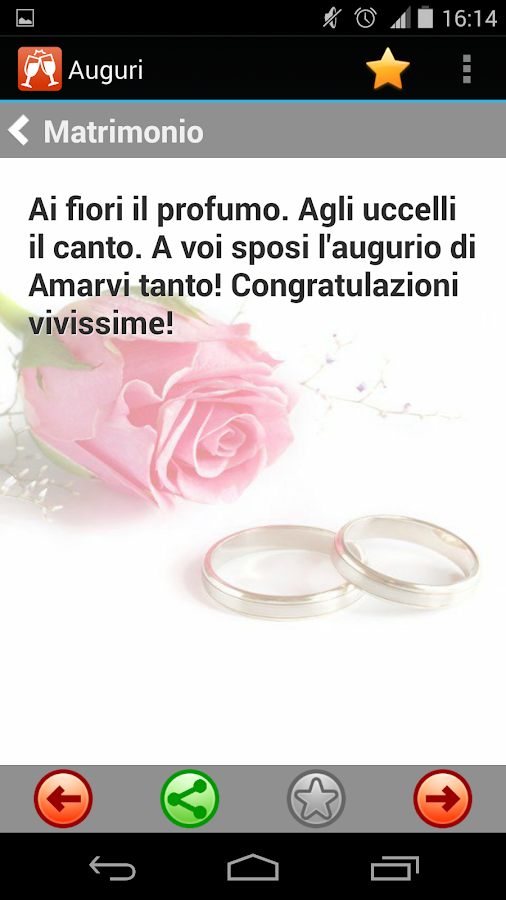 Auguri Anniversario Matrimonio Whatsapp : Auguri per ogni occasione android apps on google play