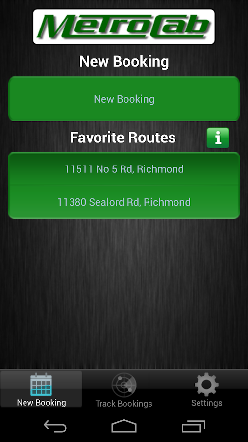 Boston Metro Cab- screenshot
