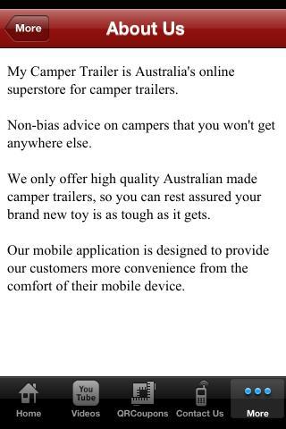 Camper Trailer- screenshot