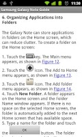 Screenshot of Galaxy Note Survival Guide