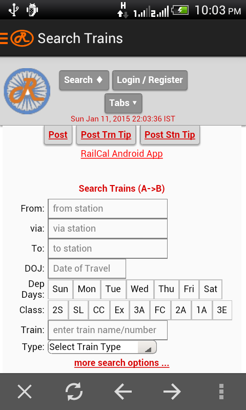 India Rail Info Android Apps On Google Play