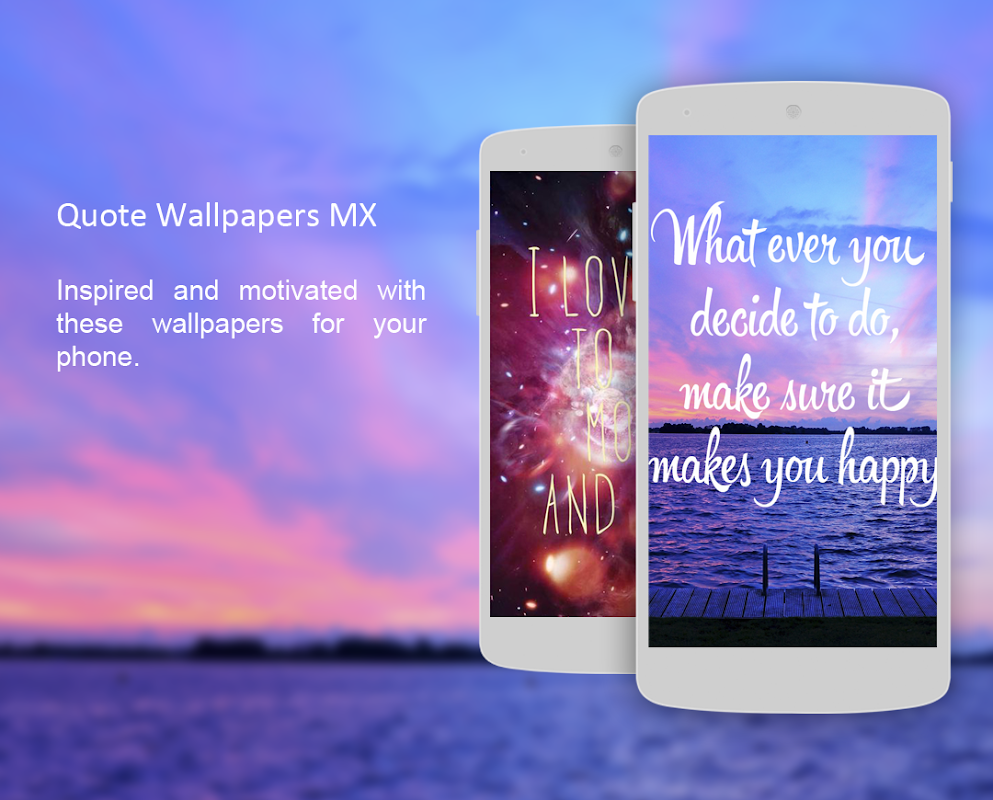 Quote Wallpapers MX screenshots