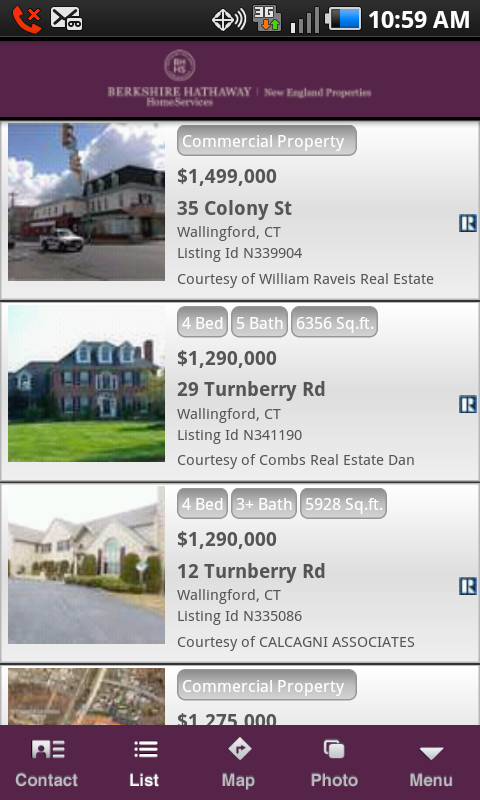 BHHS NE Properties - screenshot