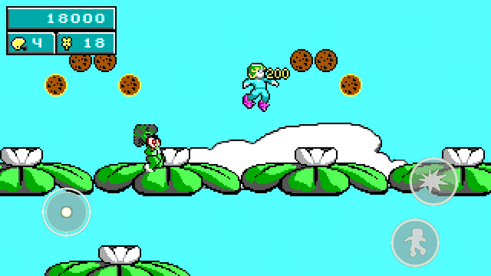 Commander Keen in Keen Dreams- screenshot