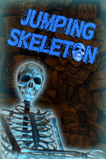 Jumping Skeleton