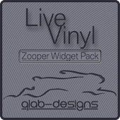 Live Vinyl for Zooper Widget