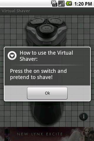 Virtual Shaver - screenshot