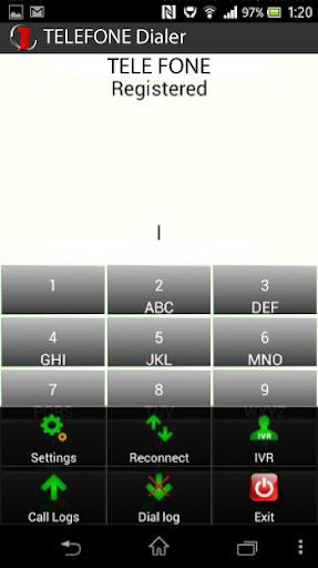 TELEFONE Platinum Dialer