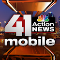 41 Action News Mobile logo