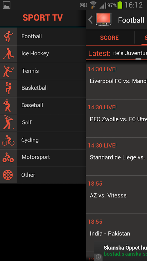 SPORT TV Original - screenshot
