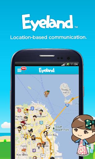 Eyeland - Chat Post on Map
