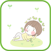 Sprout go launcher theme