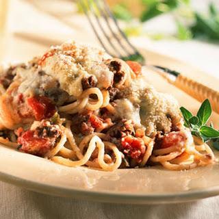 Mediterranean Spaghetti.