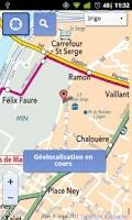 Screenshot of SmartMap Angers : plan Irigo