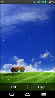 Landscape Live Wallpaper - screenshot