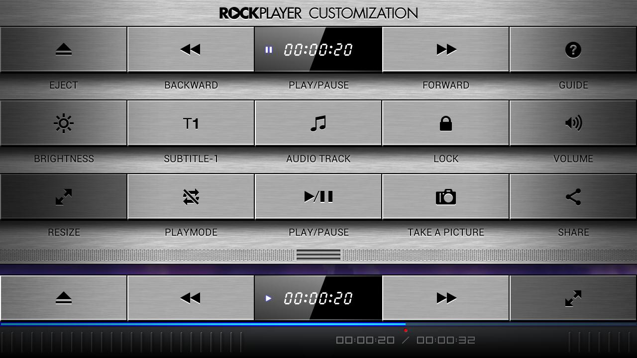 RockPlayer2- screenshot