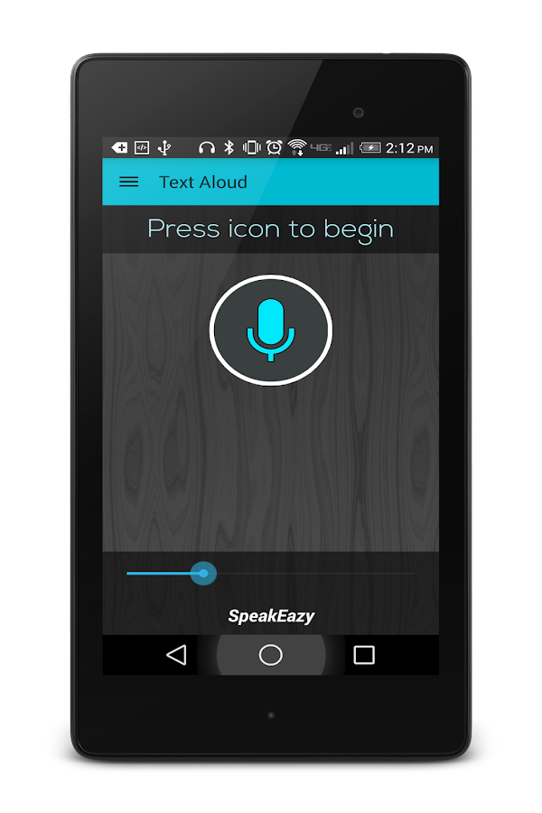 Text Voice SMS Reader Trial- screenshot