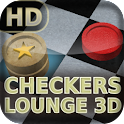 Checkers Lounge 3D logo