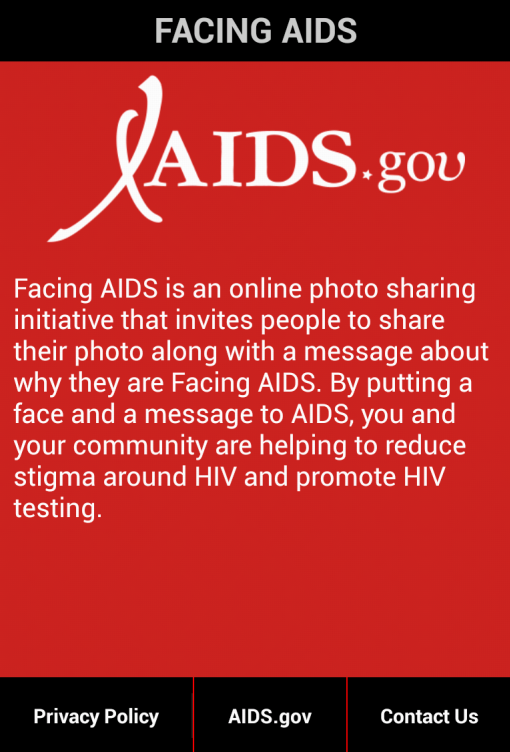 Facing AIDS - screenshot