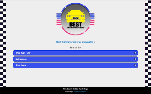 Best Car Repair Shops, Phoenix- screenshot thumbnail