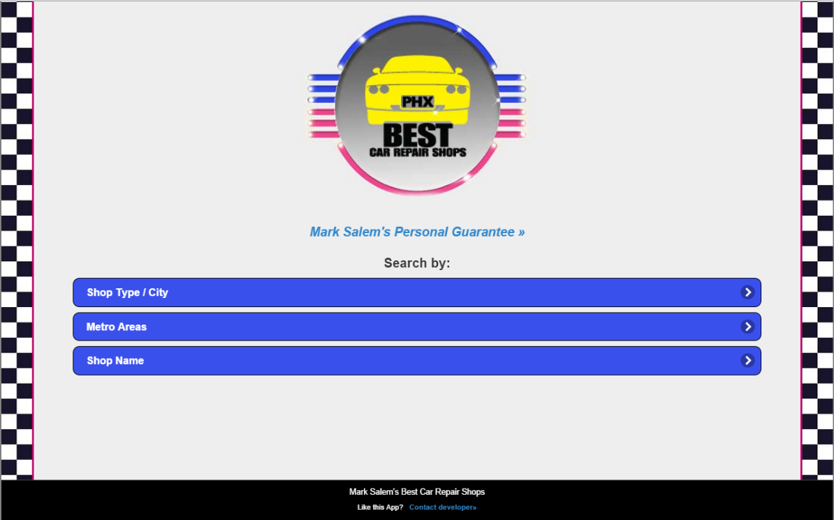 Best Car Repair Shops, Phoenix- screenshot