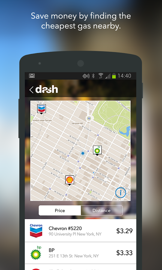 Dash - screenshot