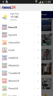 News24- screenshot thumbnail