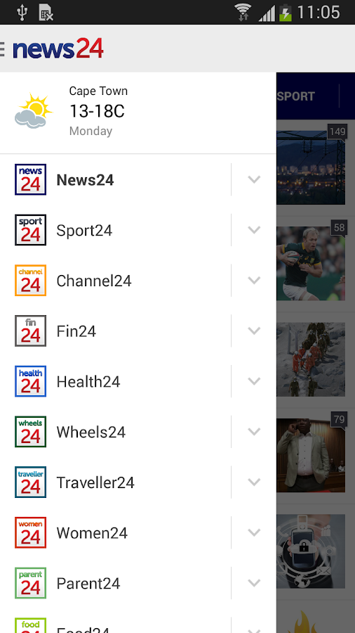 News24- screenshot