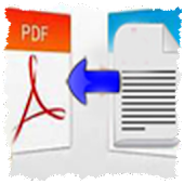 Text Conversion to PDF