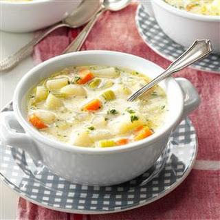 No-Fuss Potato Soup.