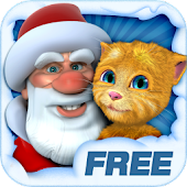 Free Talking Santa meets Ginger APK for Windows 8