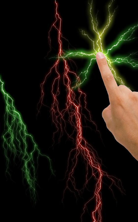 Electric Screen Live Wallpaper - screenshot