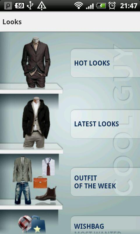 Cool Guy - Style App for Men- screenshot