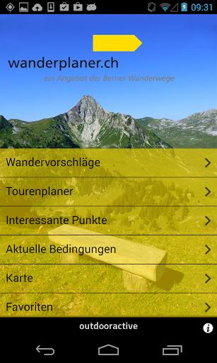 Wanderplaner BernerWanderwege