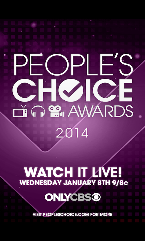 People's Choice Awards 2014 - screenshot
