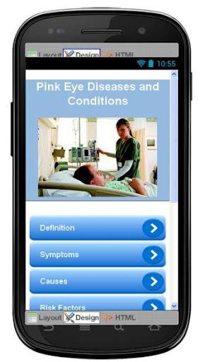 Pink Eye Disease Symptoms