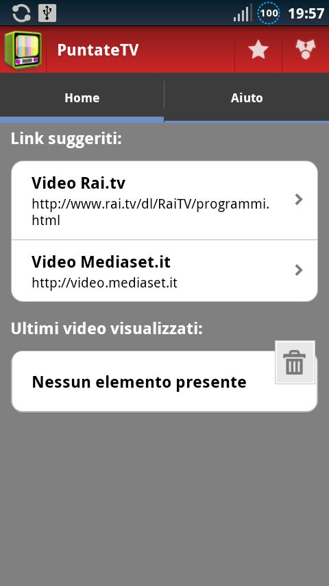 PuntateTV Programmi e Fiction - screenshot