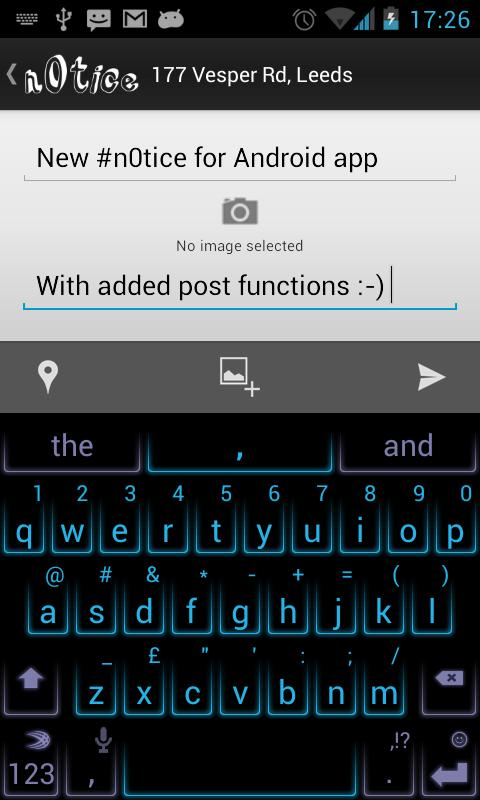 n0tice for Android- screenshot