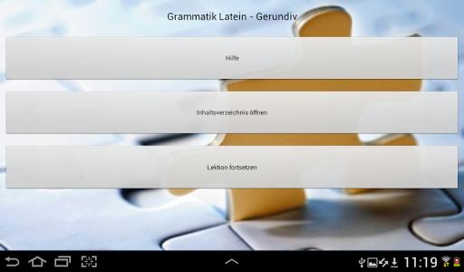Latein Grammatik - Gerundiv
